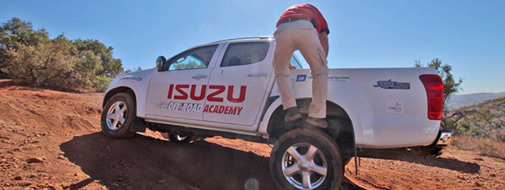 Izuzu Off-Road Tips