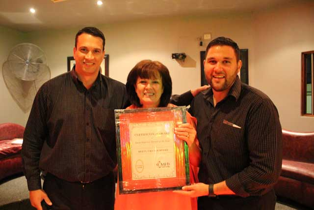 CMH Isuzu East rand salesperson of the year