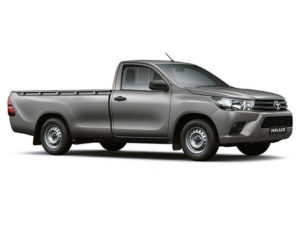CMH Isuzu Umhlanga- Toyota Hilux white single cab 2.4 A/C base