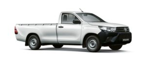 CMH Isuzu Umhlanga- Toyota Hilux white single cab 2.4 base
