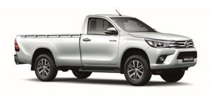 CMH Isuzu Umhlanga- Toyota Hilux white single cab 2.8 Raised Body