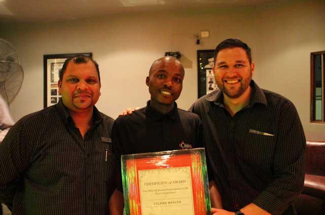 CMH Isuzu East Rand Award