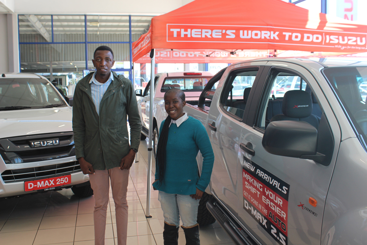 CMH Isuzu East Rand Sales Team - SBU AND TSHOLO