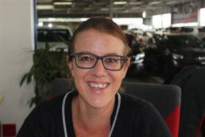 CMH Isuzu East Rand Sales Team - Sales executive Candice