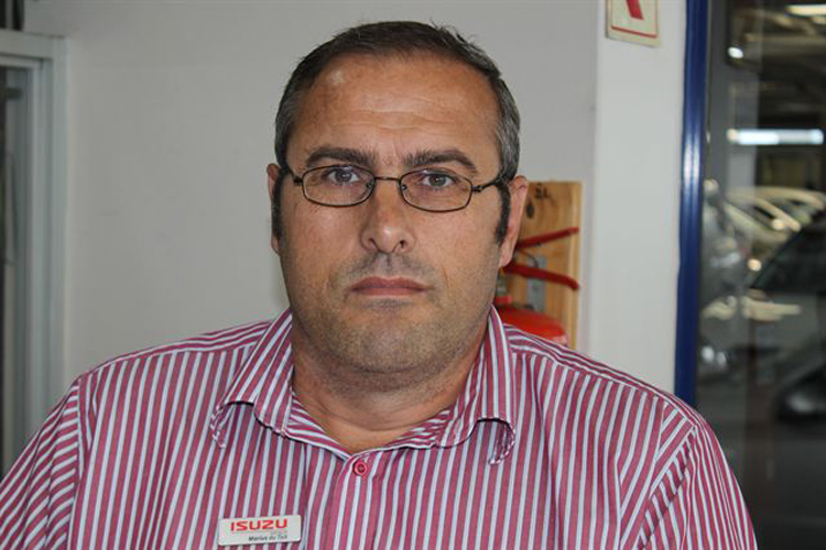 CMH Isuzu East Rand Sales Team - Sales executive Marius