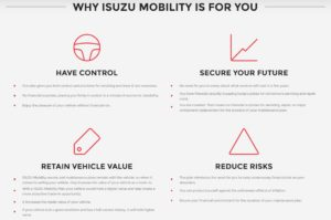 Why Isuzu Mobility is for you