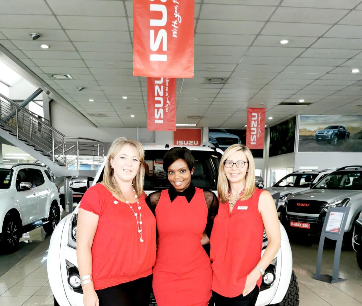 CMH Isuzu East Rand New Car Team